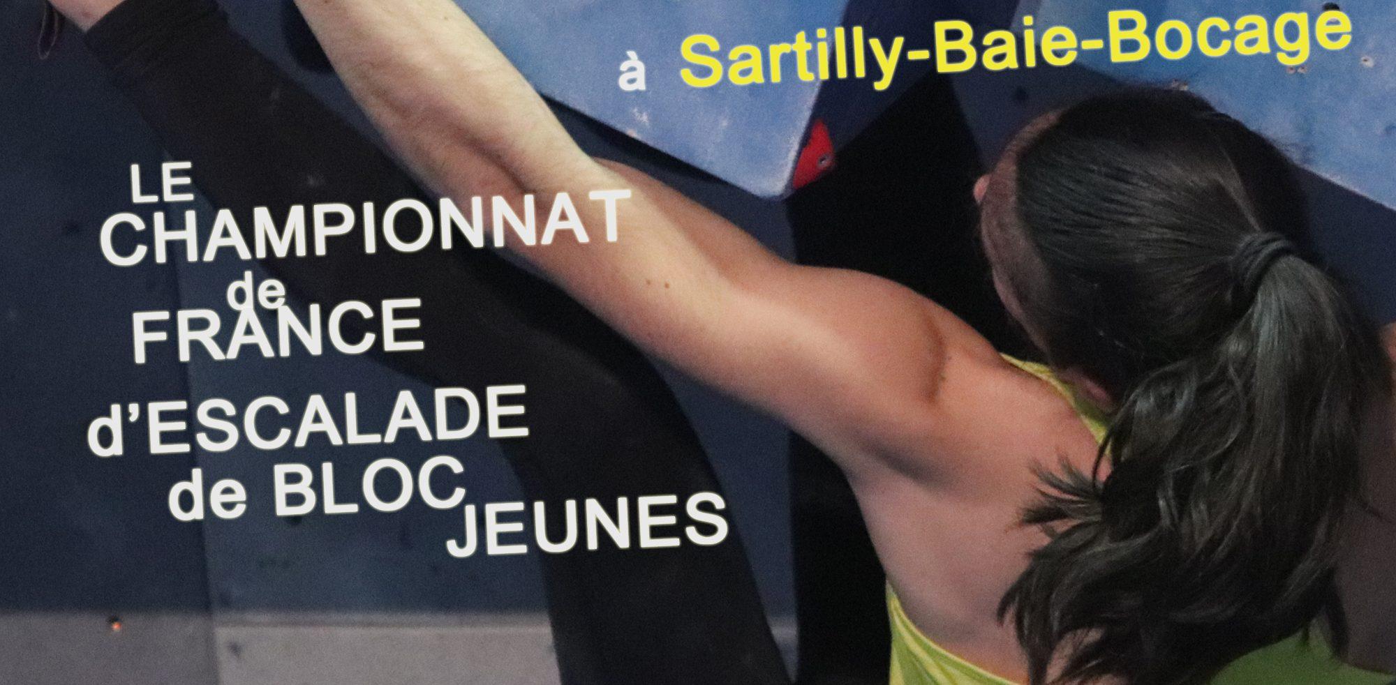 Championnat de France Jeunes d'Escalade de Bloc - Sartilly Baie Bocage